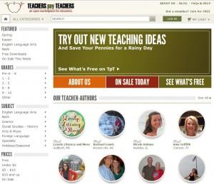 老師們的資源包 Teachers pay teachers.com